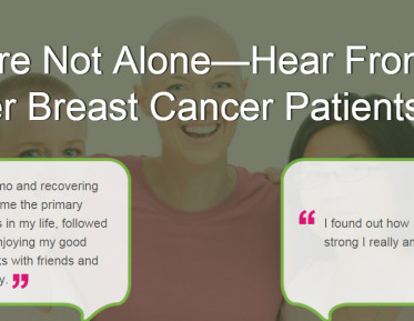 breast cancer support page