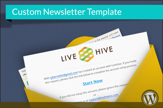 Custom Newsletter Template CyberNetikz - Custom newsletter template
