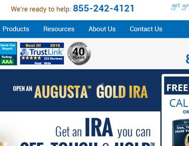 augusta gold IRA