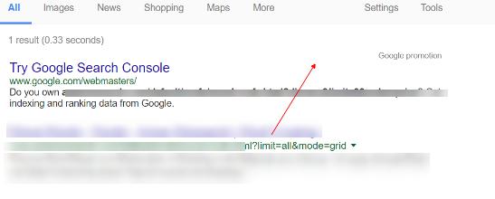 google-index-facetedurl