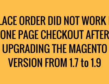 magento add to cart error