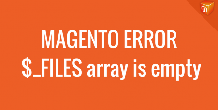 magento file upload error