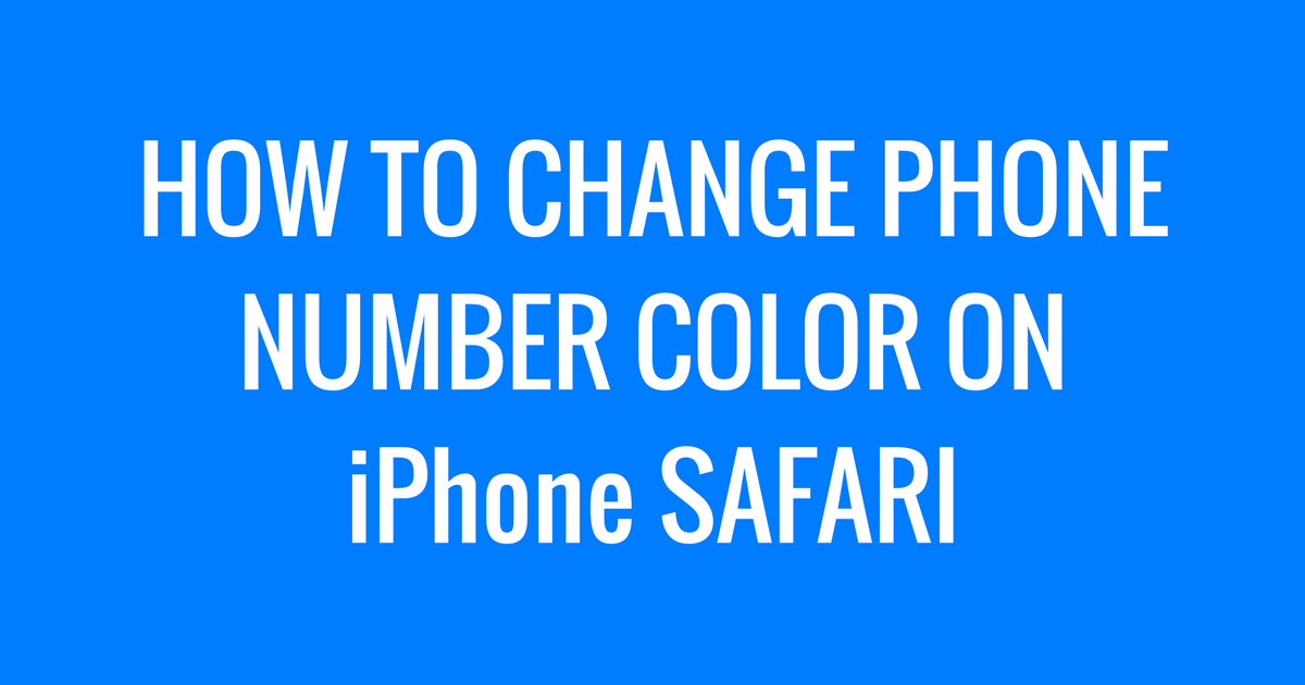 how to find changed phone number