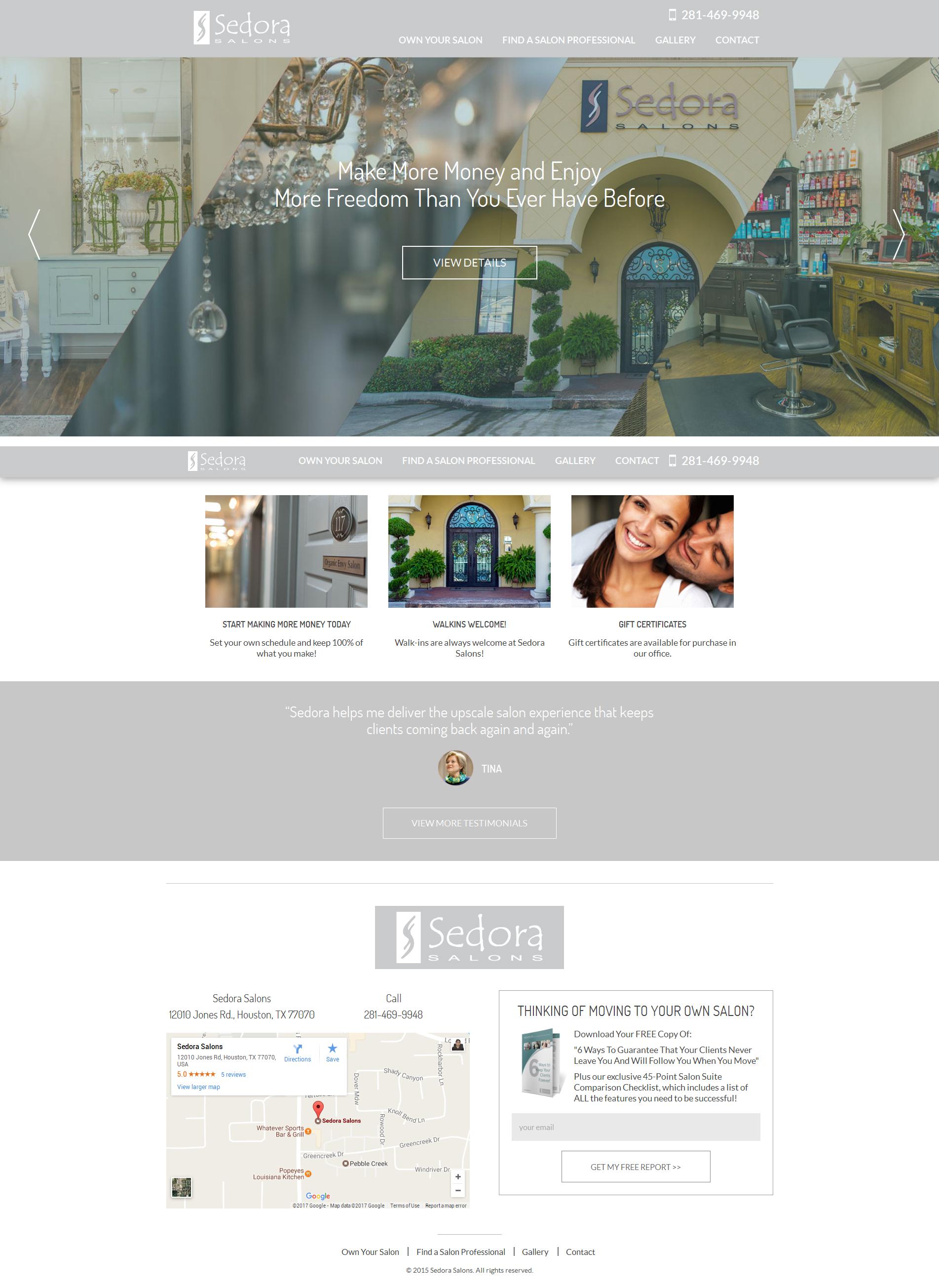 Luxury-Salon-website