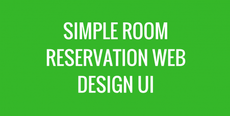 room reservation user interface